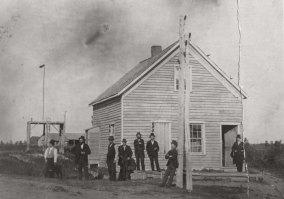 Signal Service Office-1884