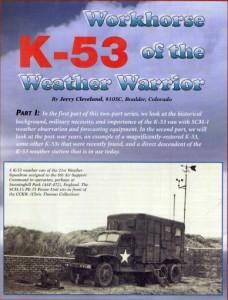 WWII truck magazine