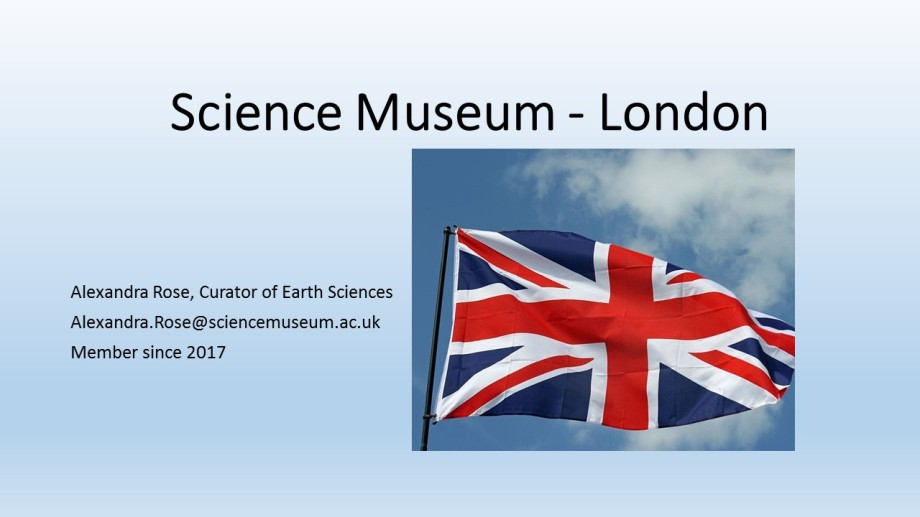 IMAPP flag entry for Museum in London